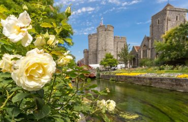Canterbury view in summer