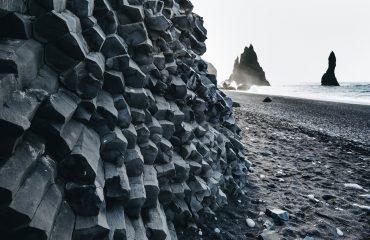 ICELAND_Basalt Columns, Black Sand Beach, Iceland, Vik
