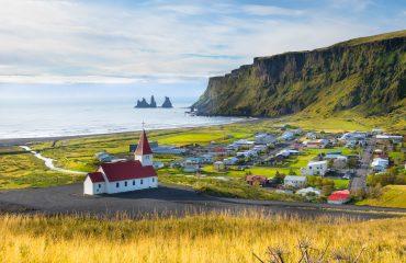 ICELAND_Beautiful view of Vik village