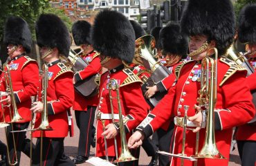 Marching Guards Of Queen In London
